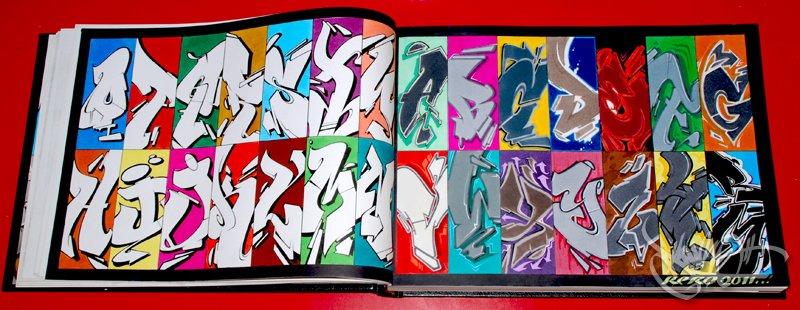 Abecedario en graffitis chidos con sombra - Imagui