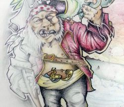 Pirata Jolly sketch 2010